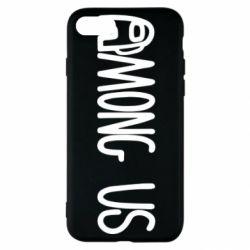 Чохол для iPhone SE 2020 Among Us Logo