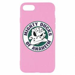 Чехол для iPhone SE 2020 Anaheim Mighty Ducks Logo