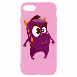 Чохол для iPhone SE 2020 Angry and cute monster