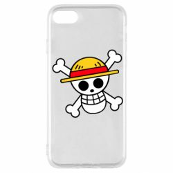 Чохол для iPhone SE 2020 Anime logo One Piece skull pirate