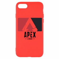 Чехол для iPhone SE 2020 Apex red-black