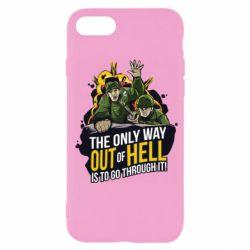 Чехол для iPhone SE 2020 Армия