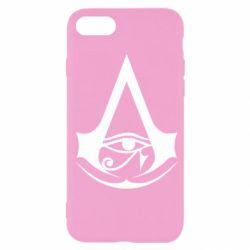 Чохол для iPhone SE 2020 Assassin's Creed Origins logo