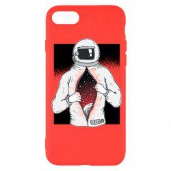 Чехол для iPhone SE 2020 Astronaut with spaces inside
