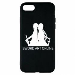 Чохол для iPhone SE 2020 Asuna and Kirito