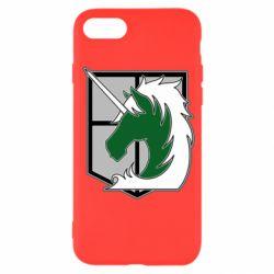 Чохол для iPhone SE 2020 Attack on Titan symbol