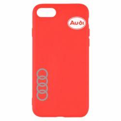 Чохол для iPhone SE 2020 Логотип Audi