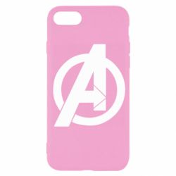 Чохол для iPhone SE 2020 Avengers logo