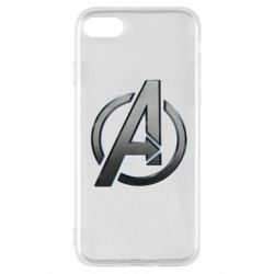 Чохол для iPhone SE 2020 Avengers Steel Logo