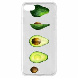 Чехол для iPhone SE 2020 Avocado set