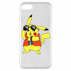Чохол для iPhone SE 2020 Back to the Future Marty McFly Pikachu