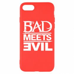 Чехол для iPhone SE 2020 Bad Meets Evil