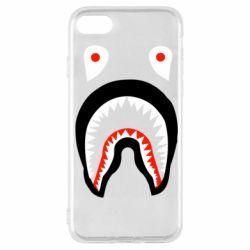 Чехол для iPhone SE 2020 Bape shark logo