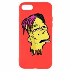 Чехол для iPhone SE 2020 Bart as Lil Peep