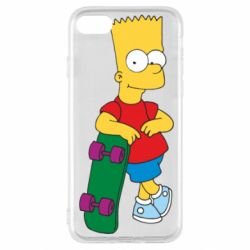 Чохол для iPhone SE 2020 Bart Simpson
