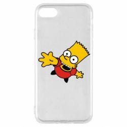 Чехол для iPhone SE 2020 Барт Симпсон