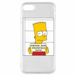 Чехол для iPhone SE 2020 Барт в тюряге