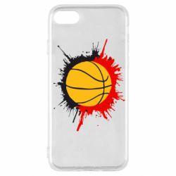 Чехол для iPhone SE 2020 Баскетбольный мяч