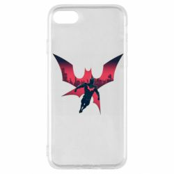 Чехол для iPhone SE 2020 Batman beyond and city