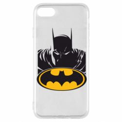 Чехол для iPhone SE 2020 Batman face