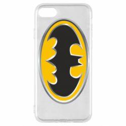 Чехол для iPhone SE 2020 Batman Gold Logo