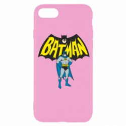 Чехол для iPhone SE 2020 Batman Hero