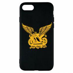 Чехол для iPhone SE 2020 Байк с крыльями