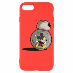 Чохол для iPhone SE 2020 BB-8 and Mickey Mouse