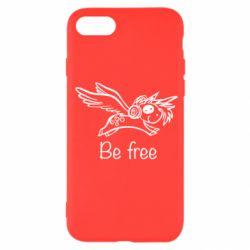 Чохол для iPhone SE 2020 Be free unicorn