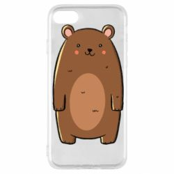Чехол для iPhone SE 2020 Bear with a smile