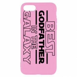 Чохол для iPhone SE 2020 Best godfather in the galaxy
