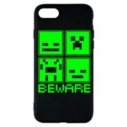 Чохол для iPhone SE 2020 Beware Minecraft
