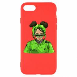 Чохол для iPhone SE 2020 Billie Eilish green style