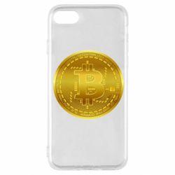 Чохол для iPhone SE 2020 Bitcoin coin