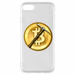 Чохол для iPhone SE 2020 Bitcoin Hammer
