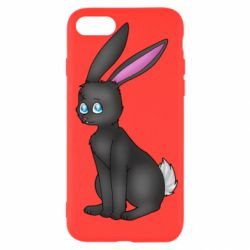 Чохол для iPhone SE 2020 Black Rabbit