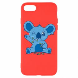 Чехол для iPhone SE 2020 Blue koala