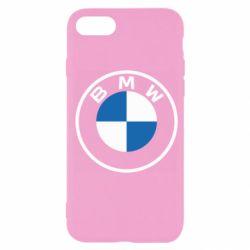 Чохол для iPhone SE 2020 BMW logotype 2020