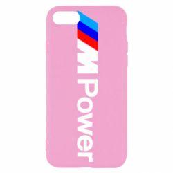 Чехол для iPhone SE 2020 BMW M Power logo