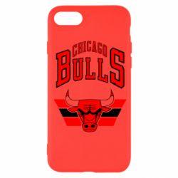 Чохол для iPhone SE 2020 Великий логотип Chicago Bulls