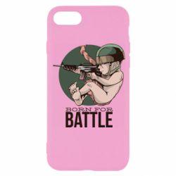 Чехол для iPhone SE 2020 Born For Battle