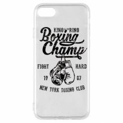 Чохол для iPhone SE 2020 Boxing Champ