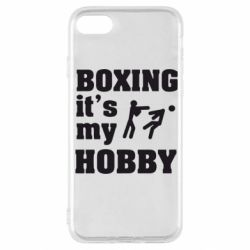 Чохол для iPhone SE 2020 Boxing is my hobby