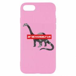 Чехол для iPhone SE 2020 Brachiosaurus