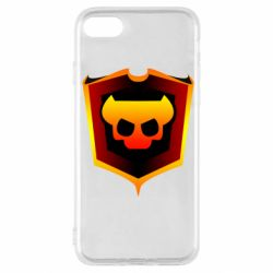 Чехол для iPhone SE 2020 Brawl Horns
