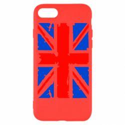 Чехол для iPhone SE 2020 Британский флаг