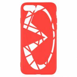 Чохол для iPhone SE 2020 Broken logo
