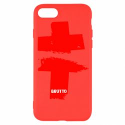 Чехол для iPhone SE 2020 Brutto Logo