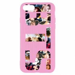 Чехол для iPhone SE 2020 BTS collage