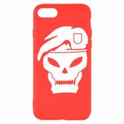 Чехол для iPhone SE 2020 Call of Duty Black Ops logo